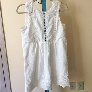 Tobi cotton shift dress